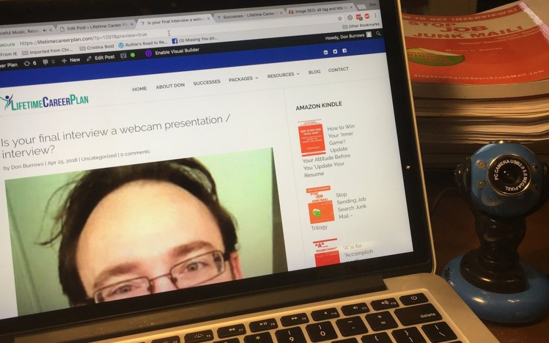 Are you a webcam presentation / interview rock star?